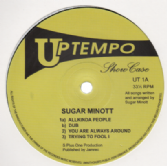 Sugar Minott - Uptempo Showcase (Uptempo<Studio One>) UK 10&quot;